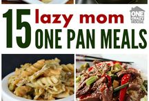 Quick family recipes for busy moms / If you are a busy mom looking for ideas for dinner time!