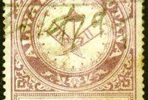 India - Alwar Stamps