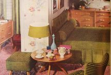 Vintage Retro Interior Living Edit / Classic Furniture from the 1950s 1960s & 1970s