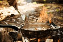 outdoor cooking / by Allen Harvey