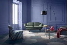 Glamour room - purple palette