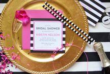 Wedding :: Showers & Bach / Planning inspiration for bridal showers, couple showers, bachelorette parties...etc.
