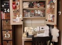 Sewing room ideas / by Nicki Bozik Reed