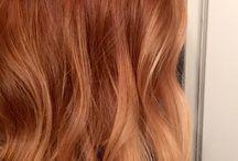 aurburn hair