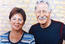 De Skilder / Geschilderde portretten van bekende en onbekende Nederlanders