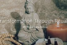 Transformation through Rituals / Transformation through Ritual is a new video course by Barbara Biziou in collaboration with #popexpert.   In this 6 day workshop, Barbara shares ancient spiritual practices that she has translated into contemporary technologies that can promote life transformation and magnetize prosperity, love, and greater meaning into every aspect of your life.