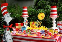 Dr Seuss Party Theme