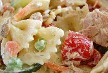 Salads / Pasta tuna salad / by Megan Auld