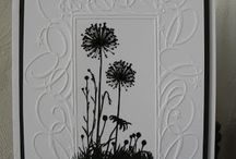 black and white cards / by Kathy Dzelzkalns