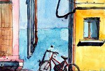 Bicycle / Bike Art / Велосипед