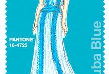pantone 2015 / moda saias vestidos calças golas