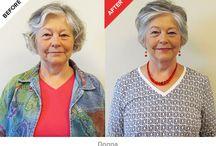 Hairstyles for elder woman