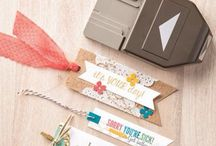Stampin up/ banner triple punch