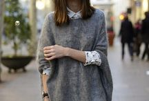 oversized sweter outfit