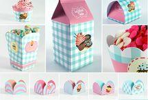 Doces Candy - Decoração festa infantil tema Doces
