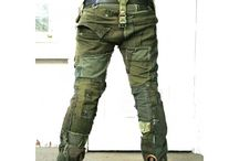 Army style, pants,
