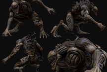 Dark CG Characters