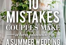 Summer Weddings / Tips and ideas for your summer wedding.