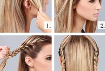 How to do a Braide into a bun