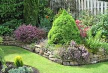 zahrada,zídka,inspirace