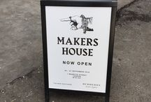 Burberry Makers House / Burberry collaborate with The New Craftsmen to deliver exhibition at the Makers House, London. #burberry #makershouse #london