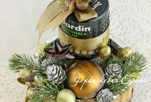 """Букеты из конфет """"Новый год"""""""