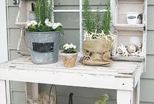 DIY - Wood - Pallet - Garden / by Kiki Maouw