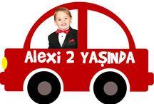 Alexi 2nd Birthday / Car, Red, BabyBoy, Baby, Boy Birthday, 2nd, Alexi, Alexander