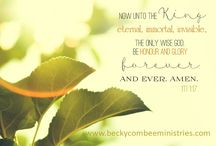 Inspirational / Inspirational Graphics by Becky Combee Ministries, Inc.