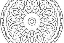 Emb des gen mandala circles and squares / by Bocca Sue Rambo