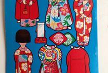 asian paper dolls