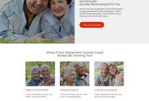 retirement planning landing page