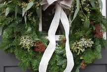 Crafty Christmas wreaths / Annual Gardenworks Christmas wreaths made by us! A great way to look back over the years at the wreaths we have made.