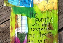 art journal inspiration ♥ / by Angie Young