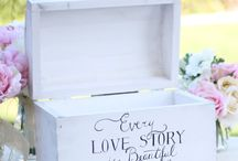 Literary Love Wedding Theme / My daughter and HER fiance met at university where they were both majoring in English. Their love for good books is where their love for one another began.  / by Marsha Partin