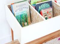 mueble para libros infantiles