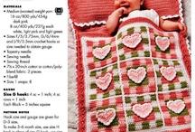 Crochet: Baby Girl Blankets / by Patti Stuart