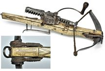 crossbow & bow