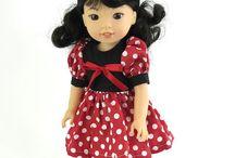 Wellie Wisher Doll Dresses!