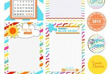 Hojas / Ideas para imprimir scrapbook / by Raul-Virginia Guille-Dario
