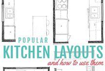 progetti cucina e living