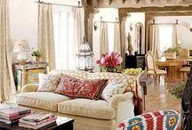 Telas Sofa colorido