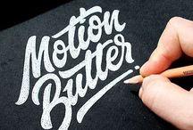 Handwritten Logo & Typography