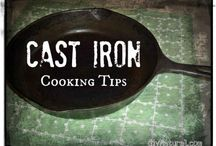 CAST IRON COOKING / by WayneSandy Crandall