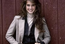 Brooke / Brooke Shields was part of my formation of beauty/views/ideals when I was very young, her dark looks and courage of her beliefs  - classic and lasting beauty - I am taken still :)