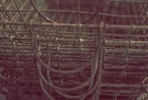 fleamarket farmhouse / Industrial grade/galvanized/diner/patchwork / by Megan