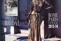 Rendez - Vous De la Mode / Una mia intervista fatta dal caporedattore Sandra Rondini, su Rendez-Vous De la Mode (alta moda e sposa in edicola il n°3).