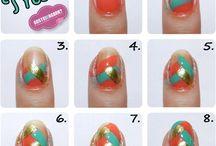 nail, uñas pintadas / como crear unas uñas de escandalo
