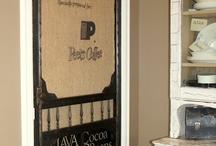 old doors repurposed