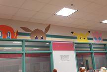 Classroom: Pokemon decorations